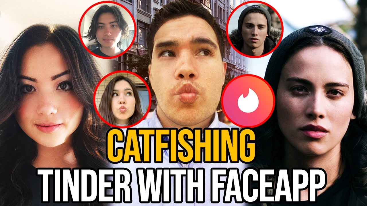 Catfishing Tinder With FaceApp!! Gender Swap - INSANE Amount of Matches!?!