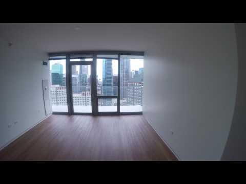 Lakeshore East Chicago Apartments   Coast   1 Bedroom   Apt #3503   GoPro Tour