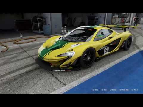 f448cb74dd61d6 FORZA Motorsport 7 - 2015 McLaren P1 GTR - Car Show Speed Crash Test ...