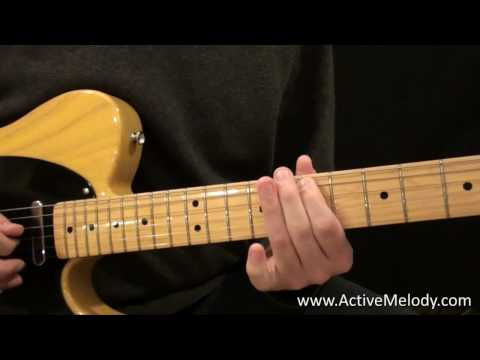 An Easy Guitar Solo in the Major Pentatonic Scale Key of E