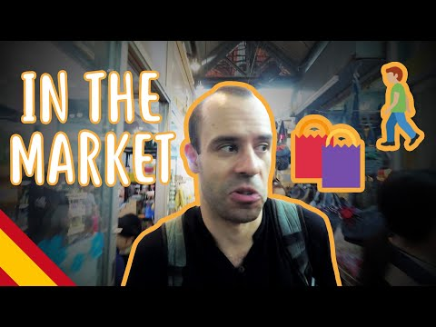 Visiting the biggest weekend market - Intermediate Spanish - I show you around #1