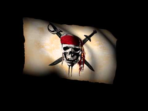 Pirate Flag Animation 1A