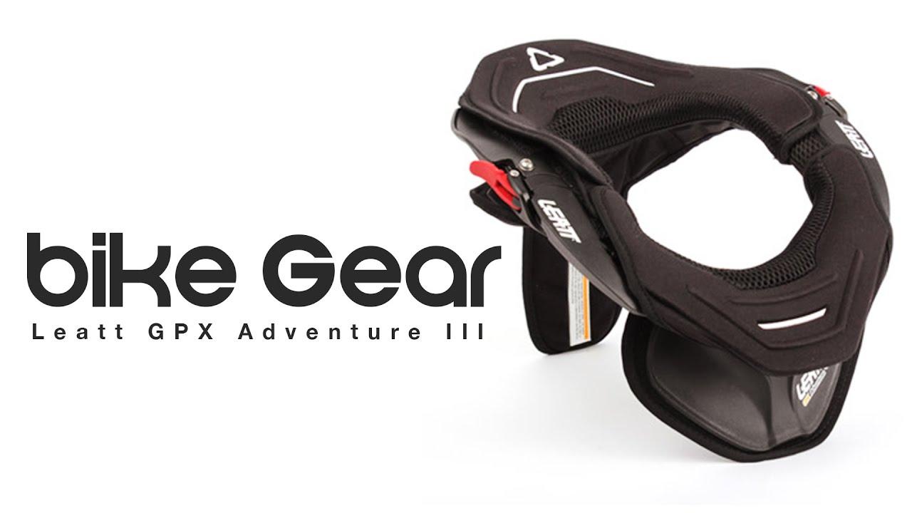 Leatt Gpx Adventure Iii Neck Brace Bike Gear Review