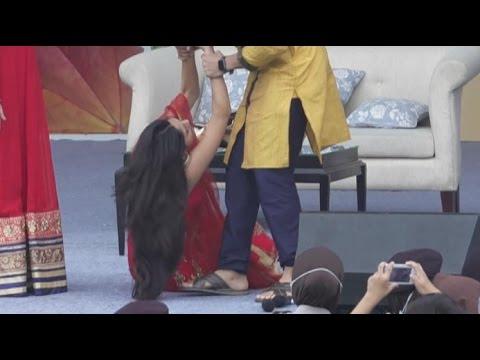 Mrunal Thakur ( Bulbul ) Pingsan Waktu Acara Meet And Greet Lonceng Cinta di Serang