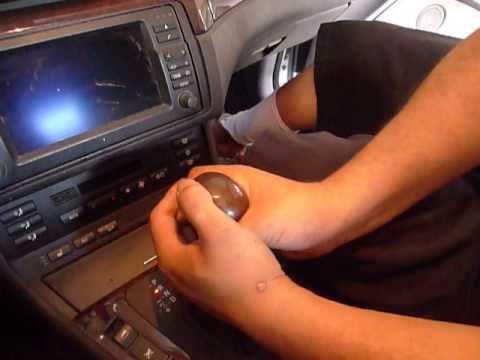 BMW E46 Shift Knob Install