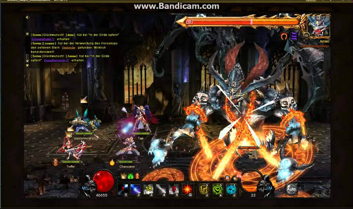 Demon slayer 65 ini server11 first kill doovi for Demon slayer
