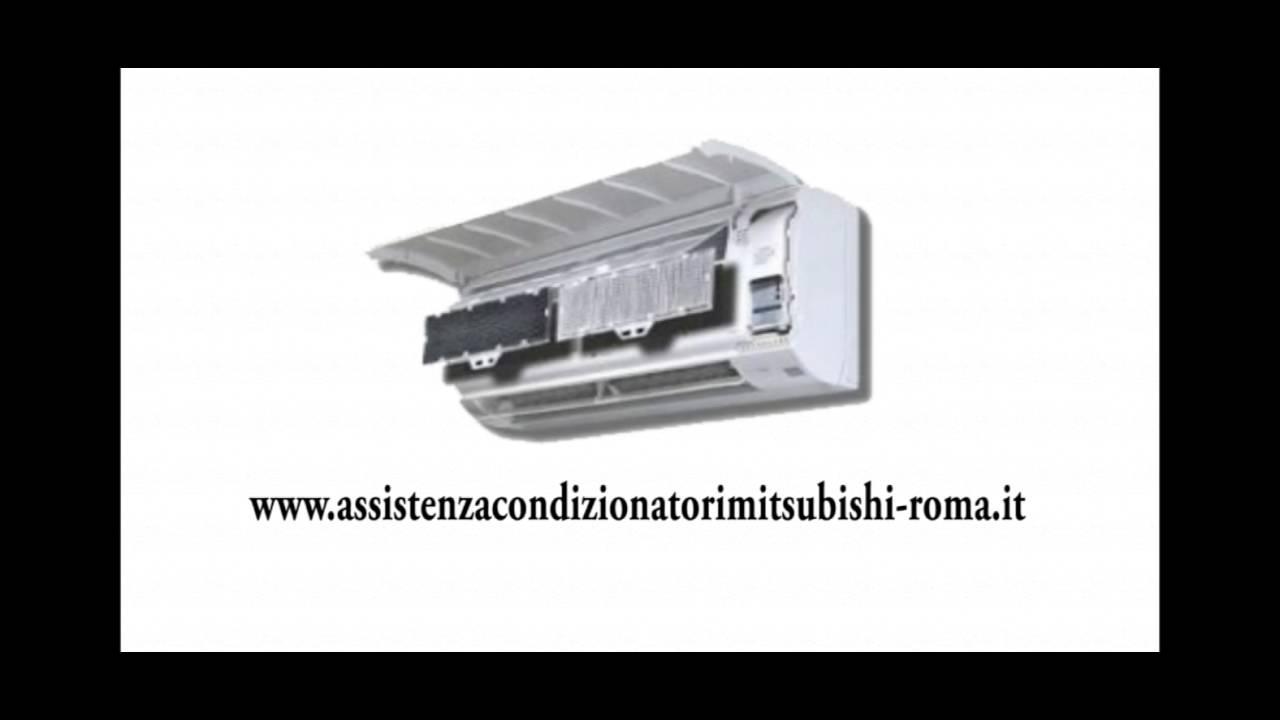 assistenza condizionatori mitsubishi roma youtube