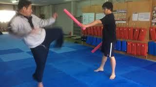 組手で動ける身体を作る、体捌きトレーニング。