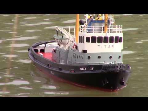 M/S Titan - Scale Model RC Tug Boat - VMK