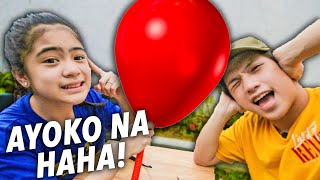 Don't Have The BALLOON When It POPS!! (Ayoko Na haha!) | Ranz and Niana