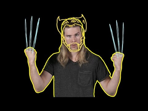 Could Wolverine Get a Tattoo? (Because Science w/ Kyle Hill)