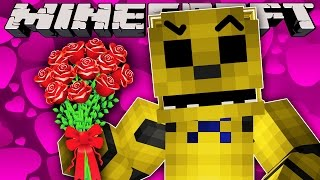 Minecraft - VALENTINES DAY WITH GOLDEN FREDDY!?