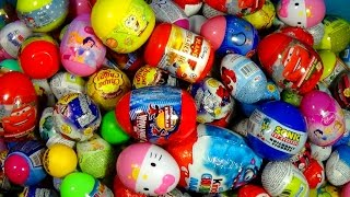 200 surprise eggs disney frozen princess toy story cars hello kitty spiderman planes kinder