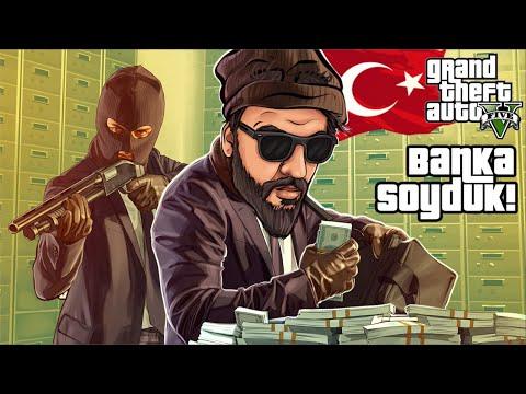 GTA 5 TÜRK İŞİ SOYGUN RolePlay #2