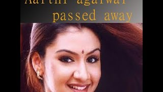 aarthi agarwal dead body after