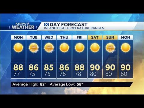 Sunday p.m KSBW Weather Forecast 07.05.20