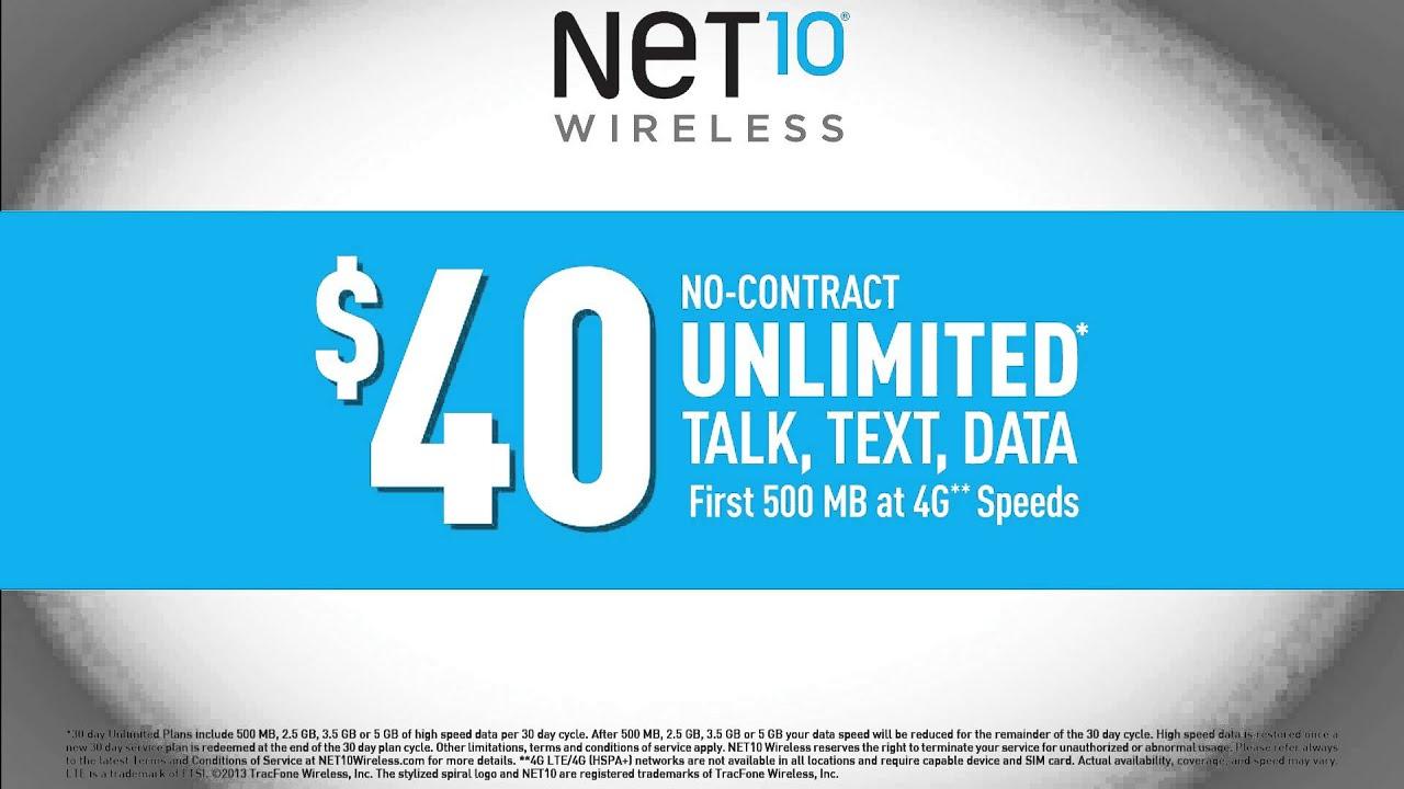 Net 10 Plans >> Net10 Wireless - New Plans 1/2014 - YouTube