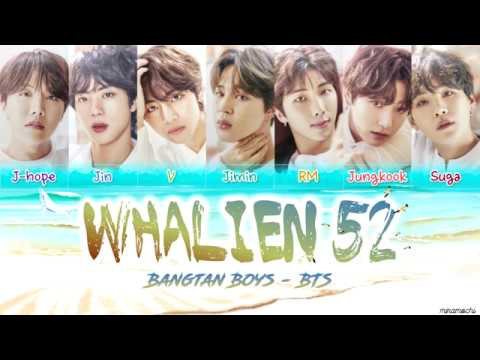 BTS (방탄소년단) – 'Whalien 52' 🐳 Lyrics [Color Coded Han_Rom_Eng]