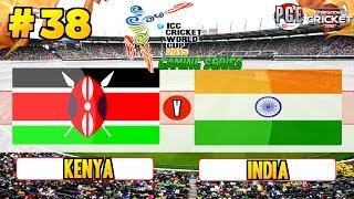 ICC Cricket World Cup 2015 (Gaming Series) - Pool A Match 38 Kenya v India