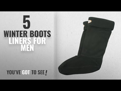 Top 10 Winter Boots Liners [ Winter 2018 ]: Jileon Women And Men Warm, Cozy & Soft Winter Black