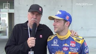 RACER: Robin Miller with Marco Andretti on Indy Aero Kit Testing