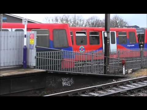 C2c And DLR Trains At Limehouse - 09/03/16