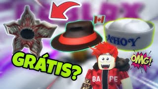 NUEVOS 3 ELEMENTOS GRATUITOS del CATALOG-International Fedora-Canada 😱 Roblox