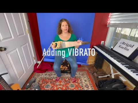How To Use Vibrato On Musical Saw Youtube