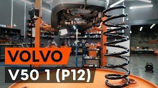 Cómo cambiar Correa de servicio VOLVO V50 (MW) - vídeo guía