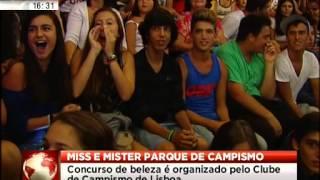 Miss e Mister Parque de Campismo na Costa de Caparica SIC Notícias