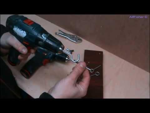 видео: Самоделки. Приспособление -крючковерт