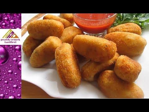 Patates Kroket Tarifi - Pratik Yemek Tarifleri