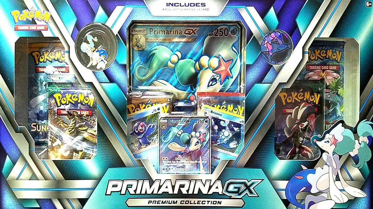 Wow The Best Primarina Gx Premium Collection Pokemon Box Opening Ex Amp Gx Ultra Rare Pulls