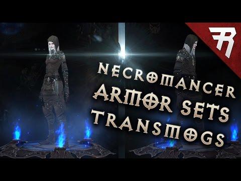 Necromancer Transmogs - Armor Sets Demo (Diablo 3 2.6 beta)
