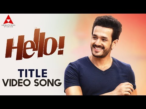 Hello Title Video Song | Hello Video Songs...