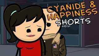 Serial Killer - Cyanide & Happiness Shorts