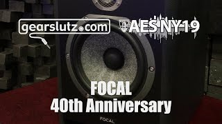 Focal 40th Anniversary Monitor Speakers - Gearslutz @ AES 2019