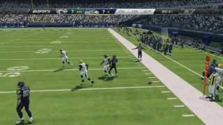 Madden NFL 25: Jacksonville Jaguars Vs Seattle Seahawks Gameplay Xbox 360 HD