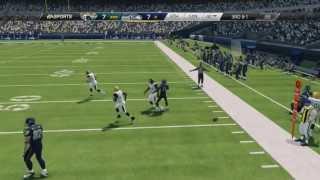 Madden NFL 25: Jacksonville Jaguars Vs Seattle Seahawks Gameplay Xbox 360 HD