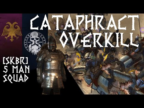 Empire Cataphract Overkill | [SkBr] 5 Man Squad | Mount & Blade 2 Bannerlord Beta | Captain Gameplay