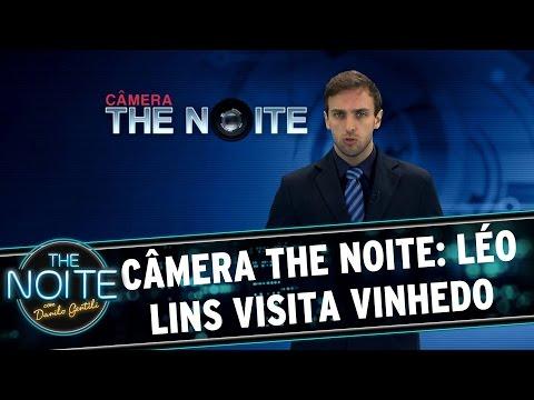 The Noite (15/03/16) - Câmera The Noite: Léo Lins Visita Vinhedo
