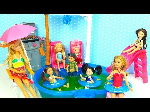 видео: НА ДАЧЕ У СОСЕДА Мультик #Барби Катя Школа Куклы Игрушки Для девочек ikuklatv Школа