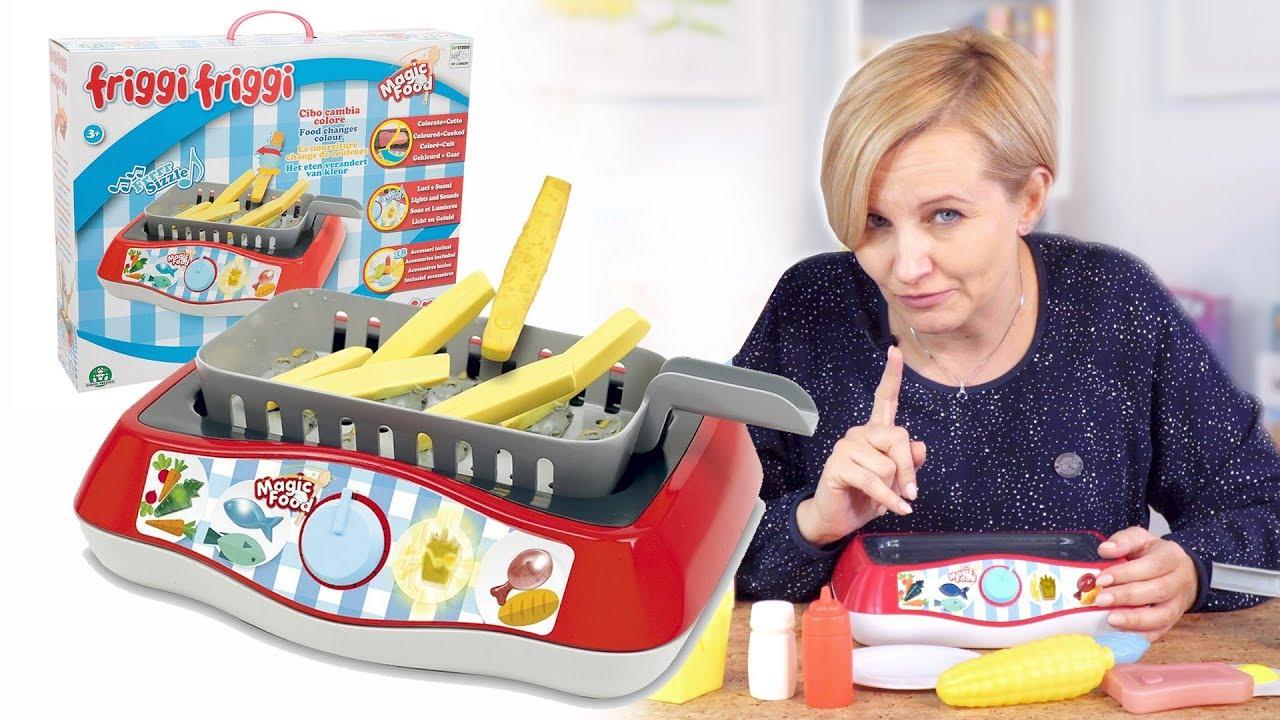 Zestaw Kuchenny Magic Fry Magiczna Kuchnia Tm Toys