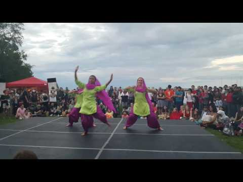 Bhangra Canada day performance