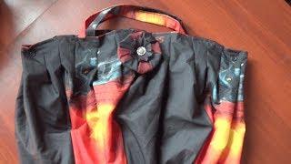 Как сшить сумку из старого зонтика