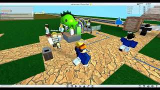 playing roller coaster tycoon in roblox! [RobloxTuesday]