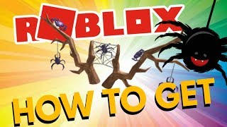 """HOW TO GET THE """"SPIDER ANTLER"""" IN ROBLOX - HALLOWEEN ROBLOX 2018 (Event)"""