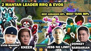 EVOS ft KNEER vs TDF permainan Fanny dari Jess No Limit sangat baik