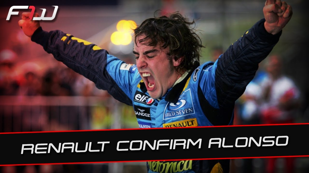 F1 News: Renault Sign Fernando Alonso