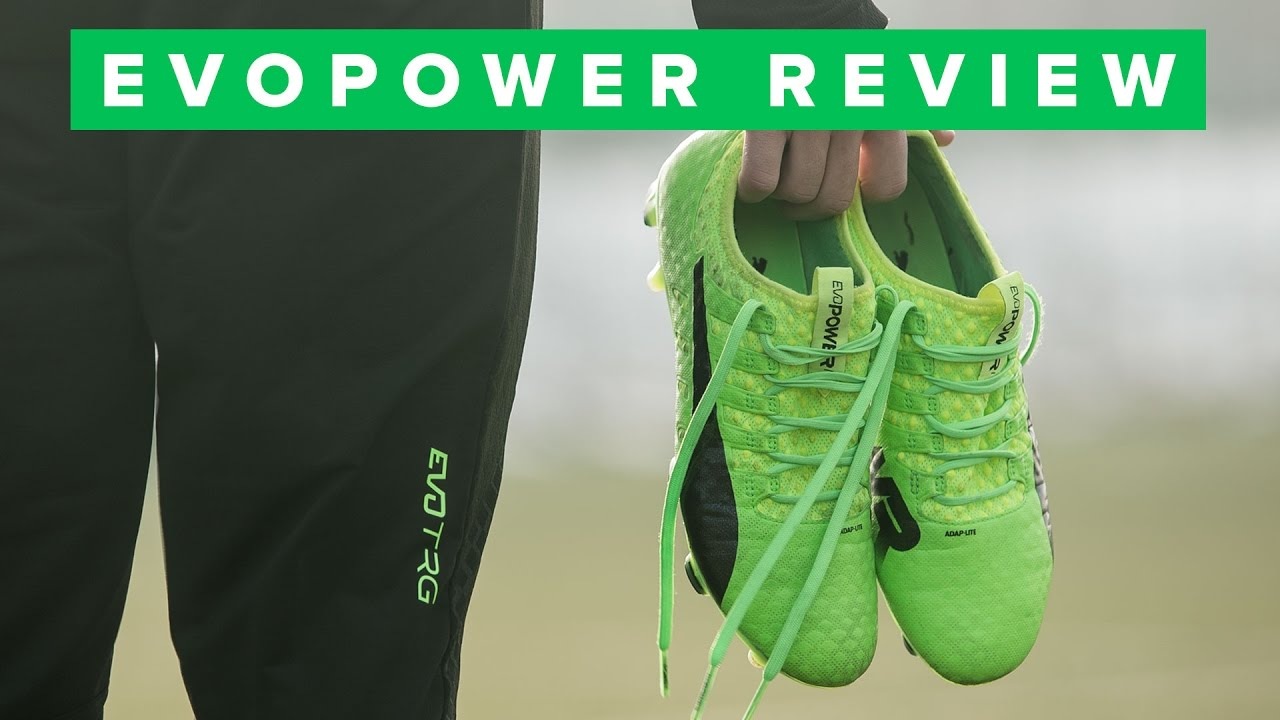 da41ca541 BEST PUMA BOOT EVER! evoPOWER Vigor review - YouTube